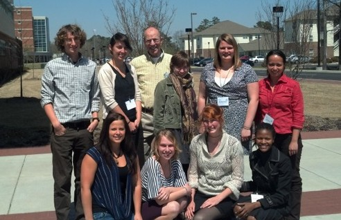 NSURS students present research at North Carolina Academy of Sciences Meeting